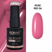 Oja Semipermanenta Roniki Rose Red 06