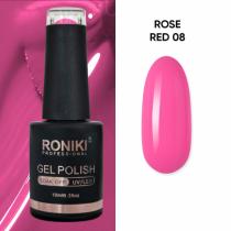 Oja Semipermanenta Roniki Rose Red 08