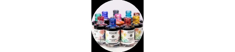 ROSALIND ICE FLOWER - AQUA INK